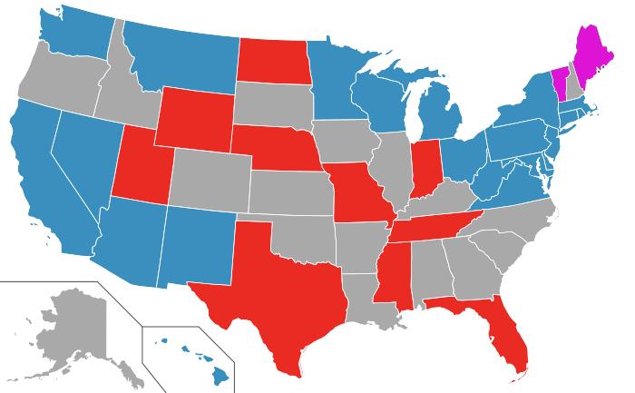 2024 Senate map