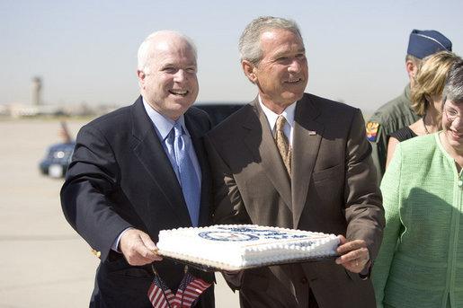 McCain-Bush