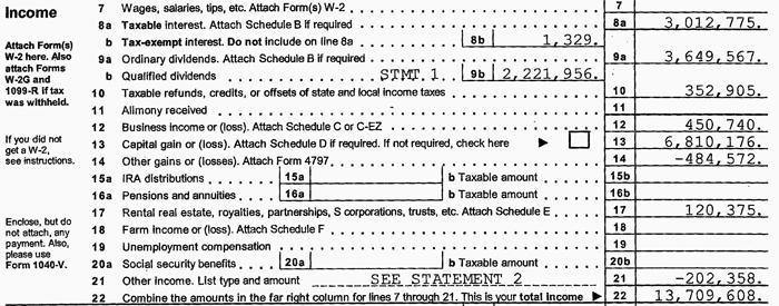 Romney's 2011 tax return