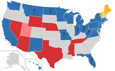 2018 senate map