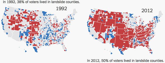 landslide counties