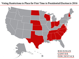 Voting law states