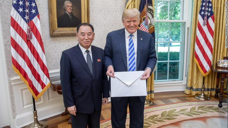 Trump gets a huge envelope