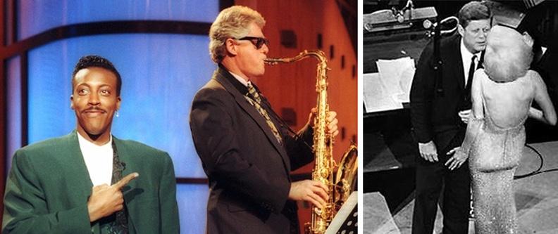 Clinton/Arsenio, Kennedy/Monroe