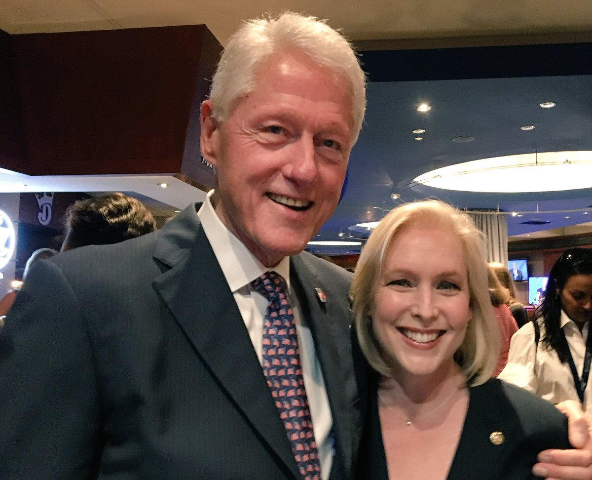 Uh, that's Kirsten Gillibrand