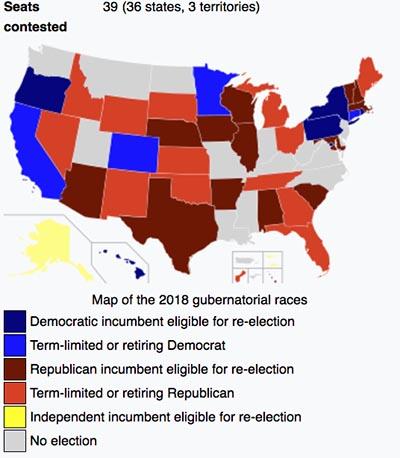 Gubernatorial elections