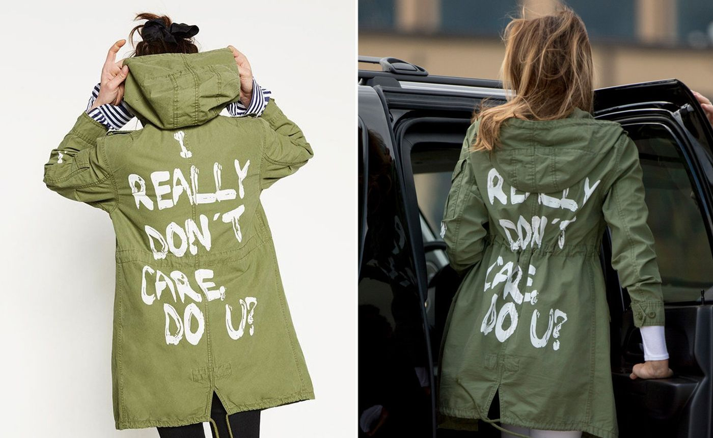 Melania Trump Don't Care