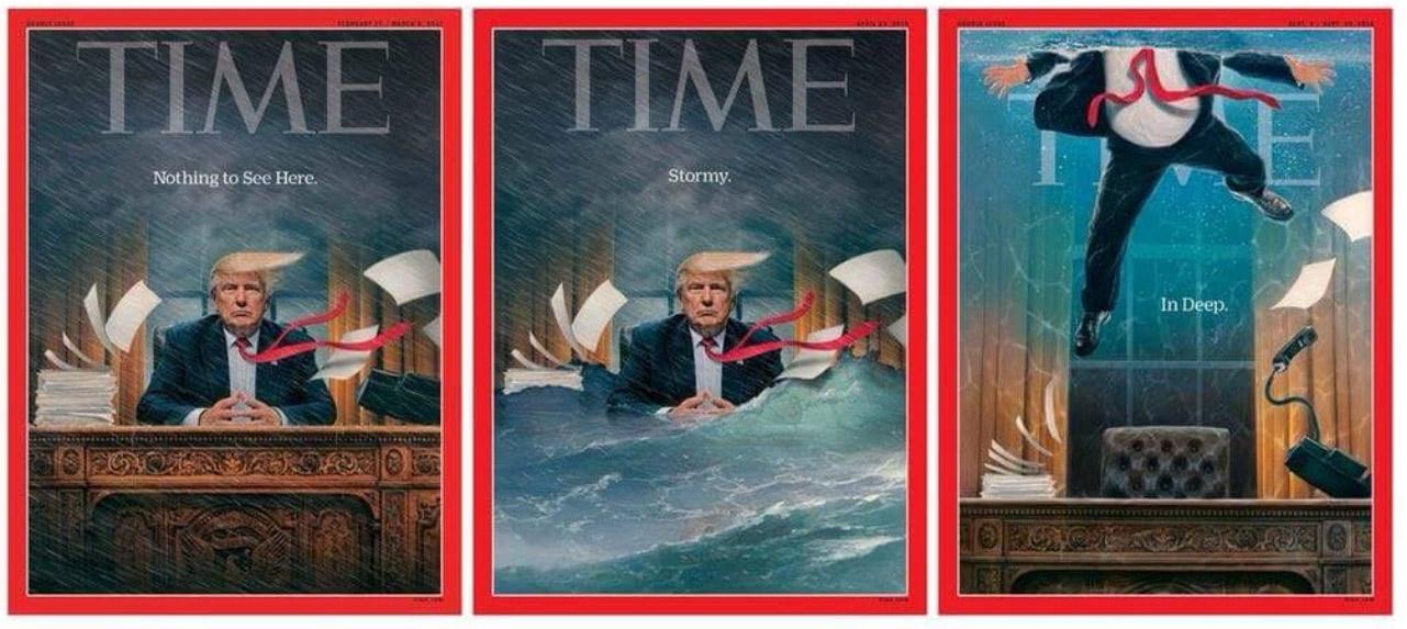 Trump in deep