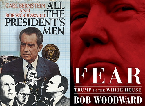 Nixon and Trump covers