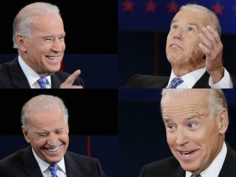 Biden laughs