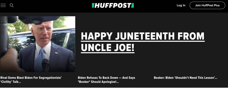 HuffPo hates Joe