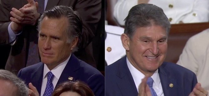 Mitt and Joe at the SOTU