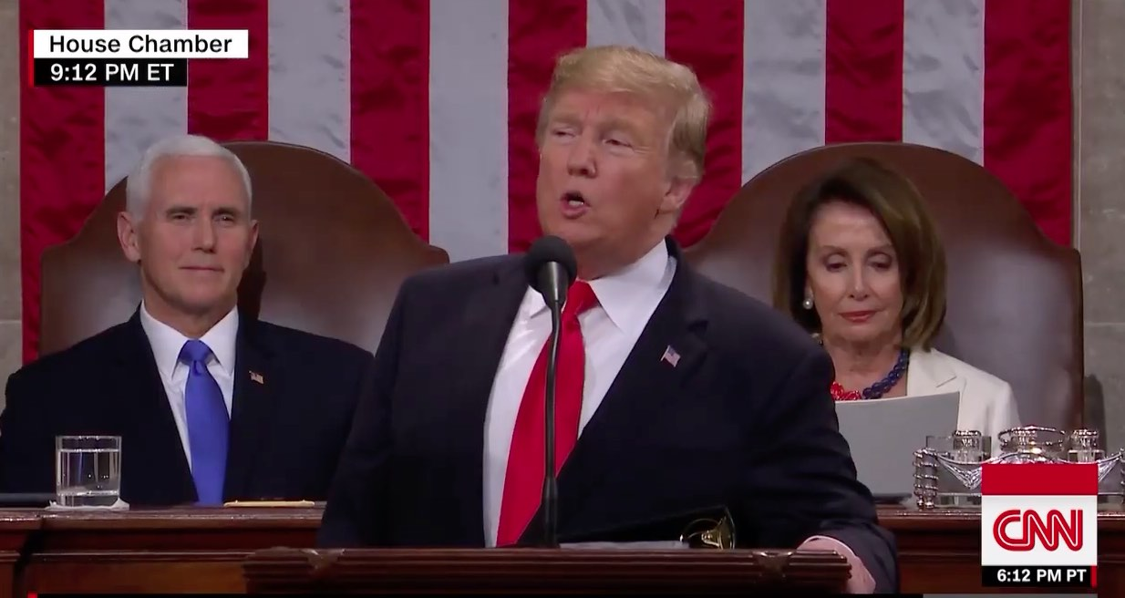 Nancy at the SOTU