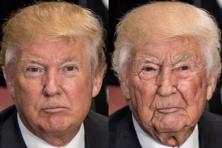 Donald Trump aged