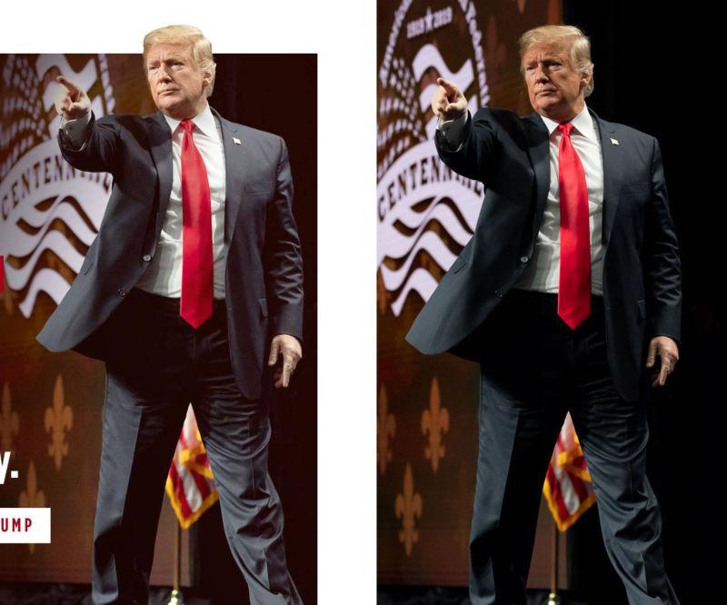 Even the 'thin' Trump is still fat