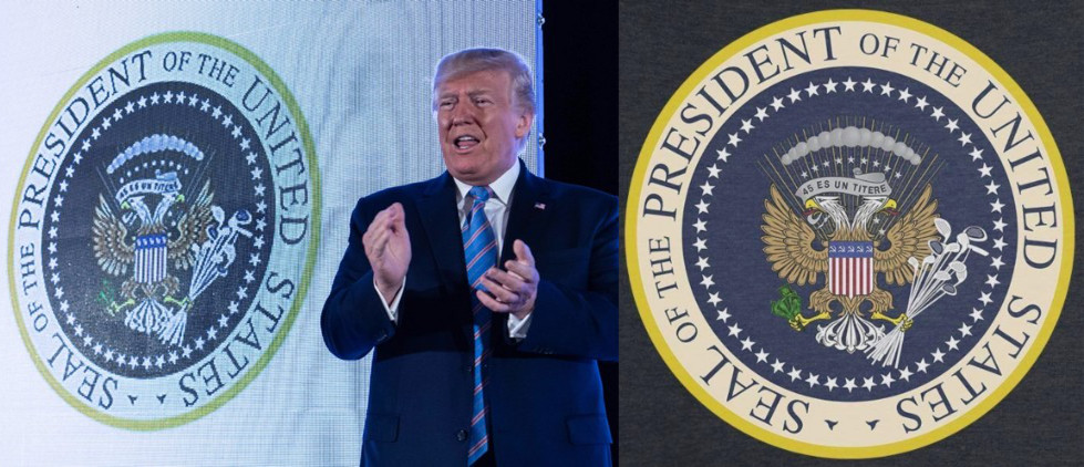 That's not the presidential seal