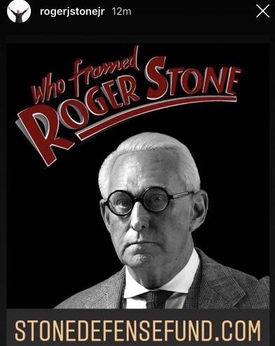 Who framed Roger Stone?
