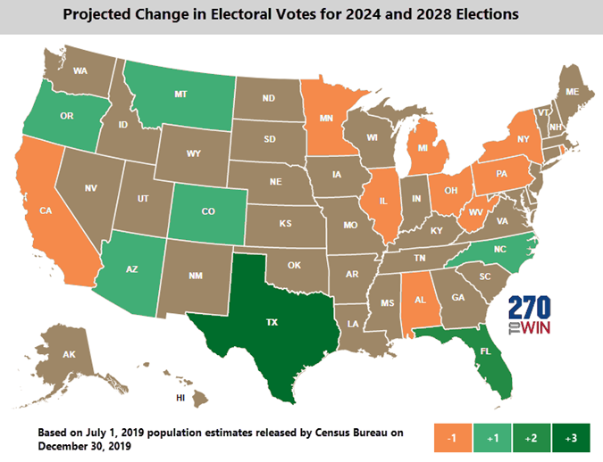 2024 electoral vote map changes