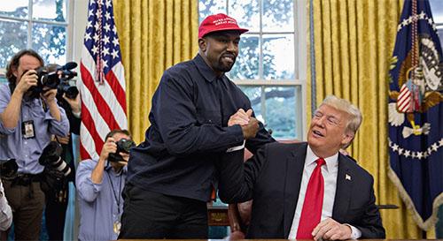 Kanye West + Donald Trump