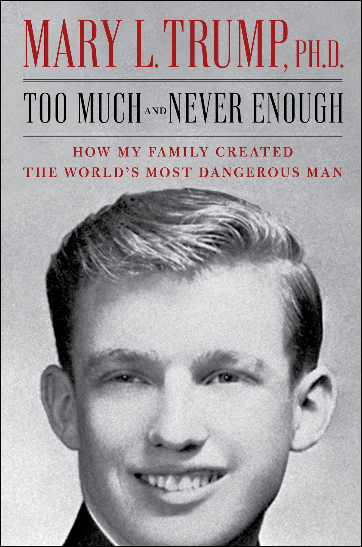 Cover of Mary Trump's book
