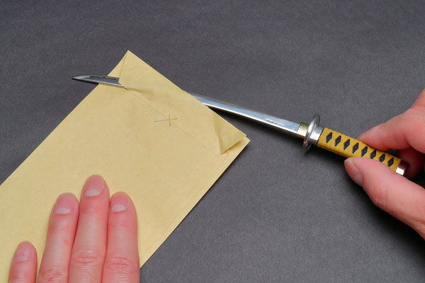 A letter opener