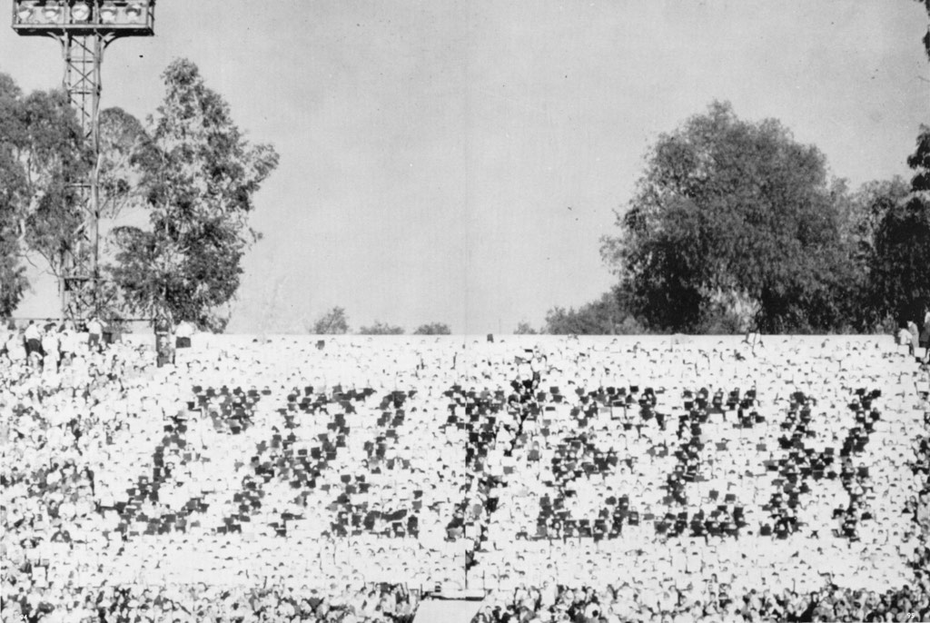 Caltech students managed to  rig things so that when UCLA students held up cards at the Rose Bowl that were supposed to say 'UCLA' they said 'Caltech' instead