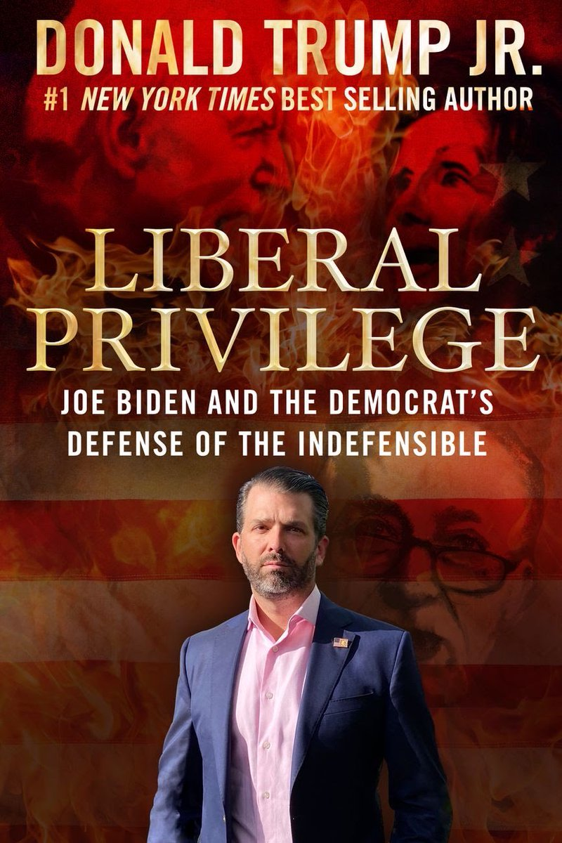 It's titled Liberal Privilege: Joe Biden and the Democrat's Defense of the Indefensible. Note the apostrophe in Democrat's, which should not be there.